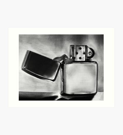 Zippo Lighter Art Print