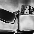 Zippo Lighter by Graham Beatty