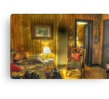 Old Cabin HDR Canvas Print