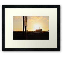 Hwy 101 Eureka Framed Print