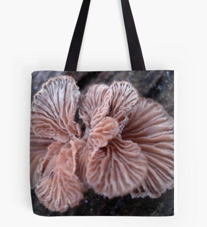 NATURE'S JEWELRY - SHELF FUNGUS GILLS Tote Bag
