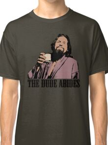 The Big Lebowski The Dude Abides Color T-Shirt Classic T-Shirt