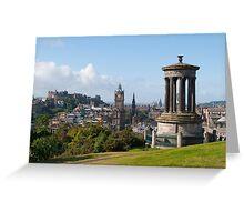 Calton Hill Edinburgh Scotland UK Greeting Card