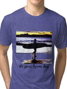 the pass, byron bay Tri-blend T-Shirt