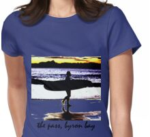 the pass, byron bay Womens Fitted T-Shirt