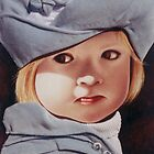 'Anna' Portrait Painting of a child by mozzyhales