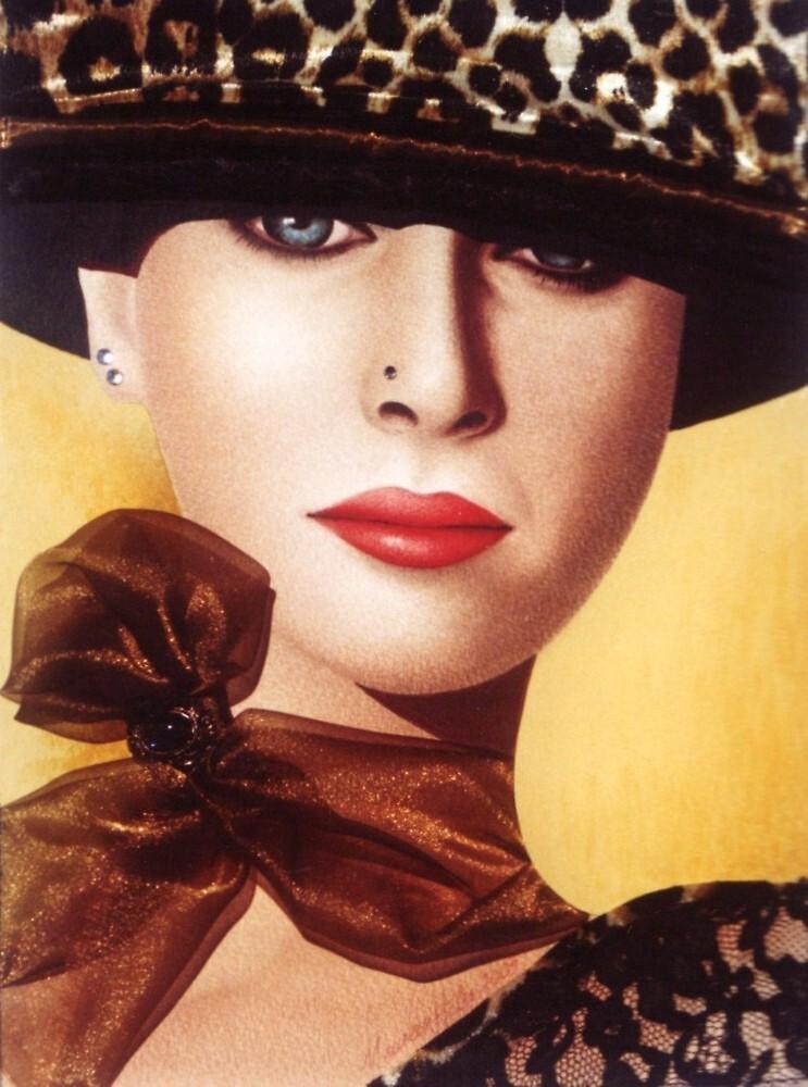 'Kerry' Portrait of a beautiful woman by mozzyhales