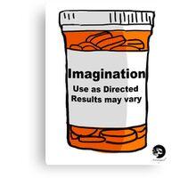A Bottle of Imagination  Canvas Print