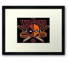 The Wilsons Framed Print