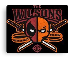 The Wilsons Canvas Print