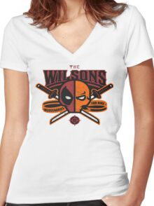 The Wilsons Women's Fitted V-Neck T-Shirt