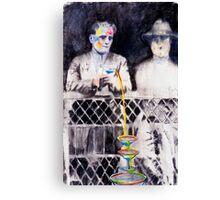 Rainbow Martini Canvas Print