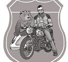 Sunday Ride - Sketch by Cody Shipman