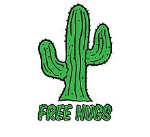 Cactus - free hugs by spectralstories
