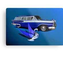 1959 Ford Ranch Wagon Metal Print