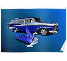 1959 Ford Ranch Wagon Poster