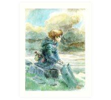 Nausicaa of the Valley of the Wind - Hayao Miyazaki - Pre Studio Ghibli (HD) Art Print