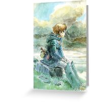 Nausicaa of the Valley of the Wind - Hayao Miyazaki - Pre Studio Ghibli (HD) Greeting Card