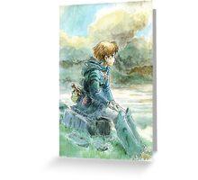 Nausicaa of the Valley of the Wind - Hayao Miyazaki - Pre Studio Ghibli (HD) Greeting Card