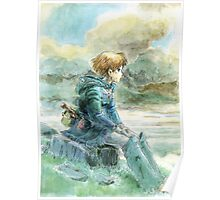 Nausicaa of the Valley of the Wind - Hayao Miyazaki - Pre Studio Ghibli (HD) Poster