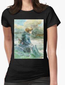 Nausicaa of the Valley of the Wind - Hayao Miyazaki - Pre Studio Ghibli (HD) Womens Fitted T-Shirt