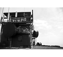 Limited Atop Mt. Washburn BW Photographic Print
