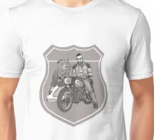 Sunday Ride - Sketch Unisex T-Shirt