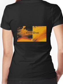 Slowdive Just For A Day Women's Fitted V-Neck T-Shirt