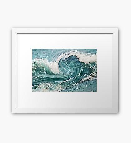 Ocean 5 Framed Print