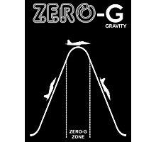 Zero Gravity Diagram Photographic Print