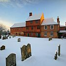 Hadleigh Guildhall in the Snow by Christopher Cullen