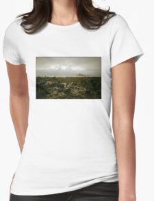 St Micheal's Mount Marazion Cornwall England UK Womens Fitted T-Shirt