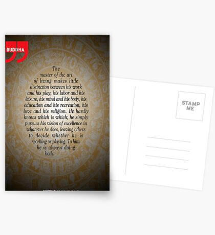 The Master of Art (Buddha's Quote) Postcards