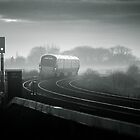 Late evening Train, Co Kildare, Ireland by 2cimage