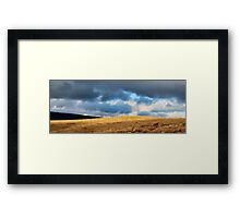 Stormy skies, Storiths Framed Print