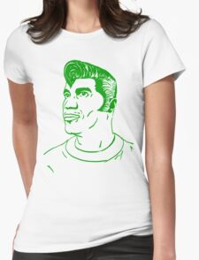 Kool Keith - Black Elvis (green) Womens Fitted T-Shirt