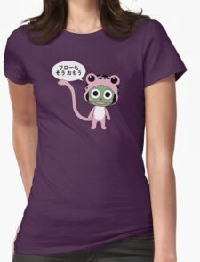 Frosch Thinks So Too Womens Fitted T-Shirt