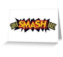 Super Smash Bros. Greeting Card