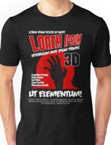 B Movie Poster Proposal Unisex T-Shirt