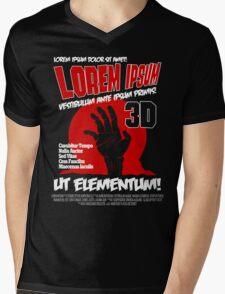 B Movie Poster Proposal Mens V-Neck T-Shirt