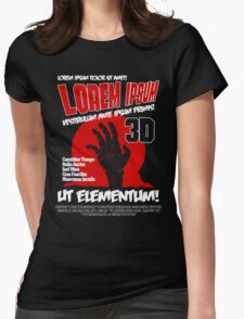 B Movie Poster Proposal Womens Fitted T-Shirt