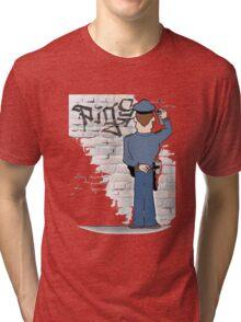 police Tri-blend T-Shirt
