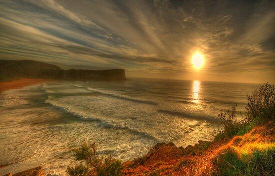 First Light - Avalon Headland, Sydney Australia- The HDR Experience by Philip Johnson