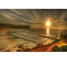 First Light - Avalon Headland, Sydney Australia- The HDR Experience Photographic Print
