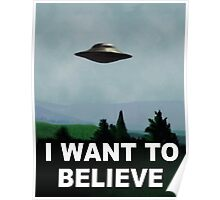 The X-Files, I Want To Believe Poster