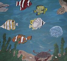 Aquarium happiness by Jennifer Ingram