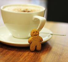 Gingerbread Boy by Jessica-red