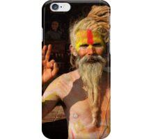 Indian Sadhu iPhone Case/Skin