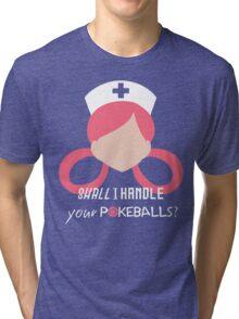 Nurse Joy - Pokemon Tri-blend T-Shirt