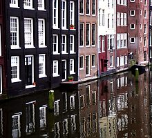 Amsterdam reflections by RosLol